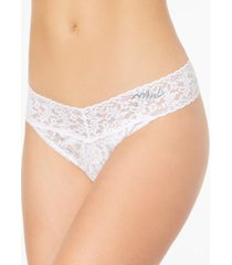 hanky panky mrs. original-rise sheer lace thong 4811t2