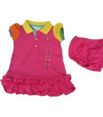 vestido polo ralph lauren rosado