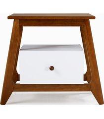mesa de cabeceira stoka 1 gaveta