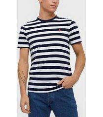 polo ralph lauren short sleeve t-shirt t-shirts & linnen blue multi