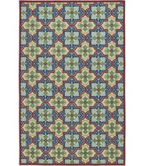 "kaleen a breath of fresh air fsr104-86 multi 7'10"" x 10'8"" area rug"
