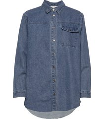 lucca denim jacket jeansjack denimjack blauw minus