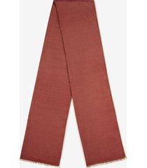 herringbone scarf red 1