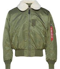 b15 bomberjacka jacka grön alpha industries