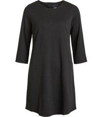 zwarte 3/4 jurk objshelly object