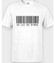 koszulka 40 lat na rynku