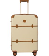 bric's bellagio 2.0 27-inch rolling spinner suitcase - brown