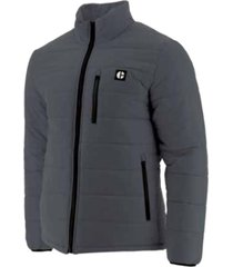 chaqueta hombre phase insulated gris oscuro cat
