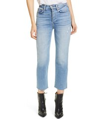 women's re/done originals high waist stovepipe jeans