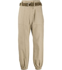 r13 utility belted trousers