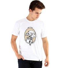 camiseta ouroboros a free elf masculina