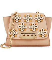 mini eartha embellished leather crossbody bag