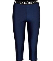 allyson tights leggings blå résumé