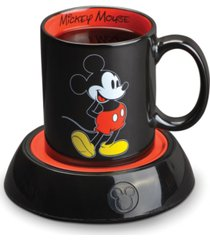 disney mickey mouse mug warmer with 10 ounce mug