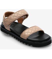 sandals 2756 shoes summer shoes flat sandals beige billi bi