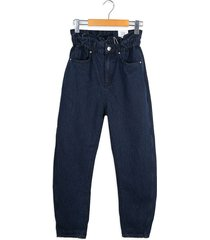 jeans azul mng slouchy