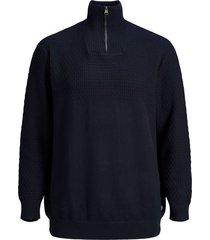 trui jack & jones plus size donkerblauw