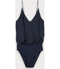scotch & soda viscose satin bodysuit