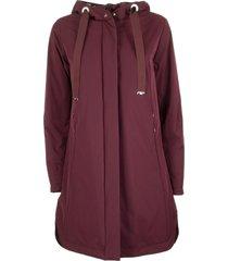 herno oversized drawstring parka jacket