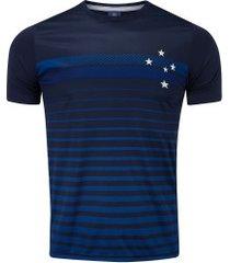 camiseta do cruzeiro date 19 - masculina - azul