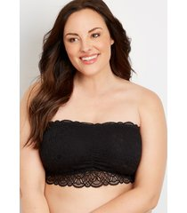 maurices plus size womens lace bandeau bralette