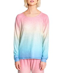 women's pj salvage beach bound ombre lounge sweatshirt
