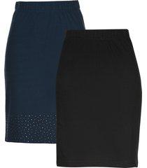 gonna di jersey (pacco da 2) (blu) - bpc selection