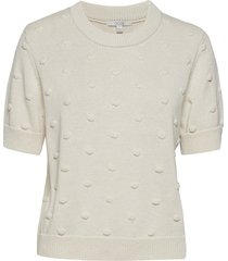 bonnie t-shirts & tops knitted t-shirts/tops crème dagmar