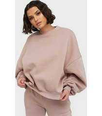 nly trend perfect chunky sweater sweatshirts mauve