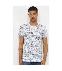 camiseta all free tropical masculina