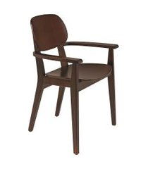 cadeira de madeira tramontina 14061/410 london tabaco