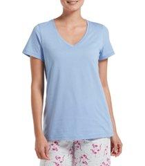 hue women's v-neck pajama t-shirt