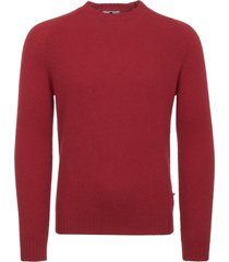 nn07 red nathan crew neck jumper 6212-560