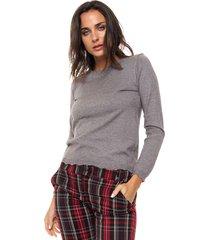 sweater gris nano gabrielle