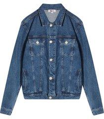 chaqueta clasica para hombre color azul, talla l