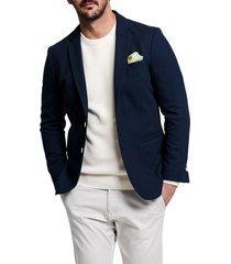 washable jersey pique blazer