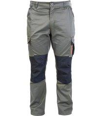 pantalon cargo hw dakota spandex verde oliva hardwork