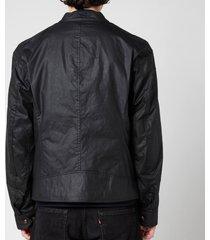 belstaff men's kelland jacket - black - it 54/xxl