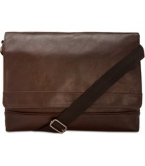 kenneth cole reaction men's pebbled messenger bag