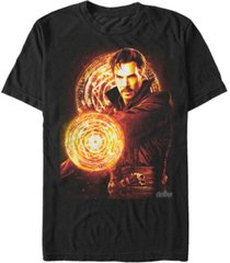 marvel men's avengers infinity war doctor strange glowing power short sleeve t-shirt
