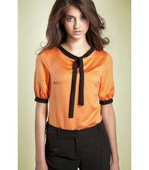 bluzka madeline b21 pomarańczowa