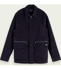 scotch & soda katoenen corduroy jack