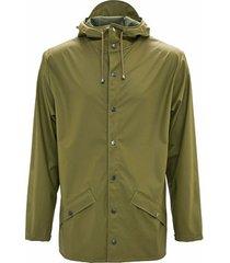 blazer rains jacket