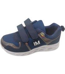zapatillas azul velcro vinnys outlet