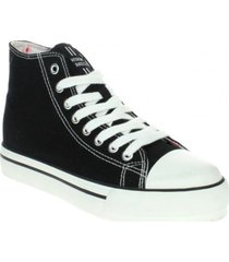 zapatilla high negro north star