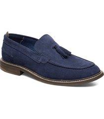 oklahoma loafers låga skor blå playboy footwear