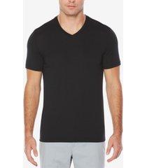 perry ellis men's big & tall performance stretch moisture-wicking v-neck t-shirt