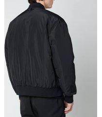 mackage men's baxter bomber jacket - black - xl