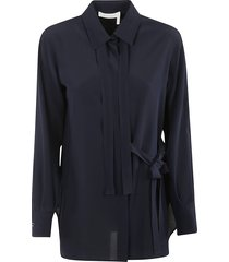 chloé bow-tie detail blouse