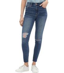 jeans legging ankle tiro alto daisy azul gap